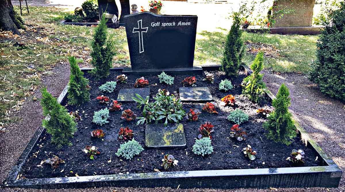 Grabpflege - Blumenparadies Schulze Bernburg